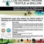 Détachant résine textile et ballon - Bidon de 5L