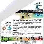Détachant résine textile et ballon - Spray de 750ml