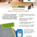 Decamark nettoyant gymnase résine de handball