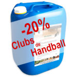 Remise de 20% pour les Clubs de Handball