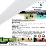 D'Ecol Résine moussant nettoyant résine de handball